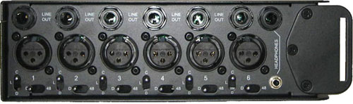 ProMix 6 Inputs